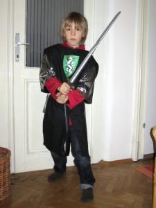 2011: steirischer Ritter Kostüm