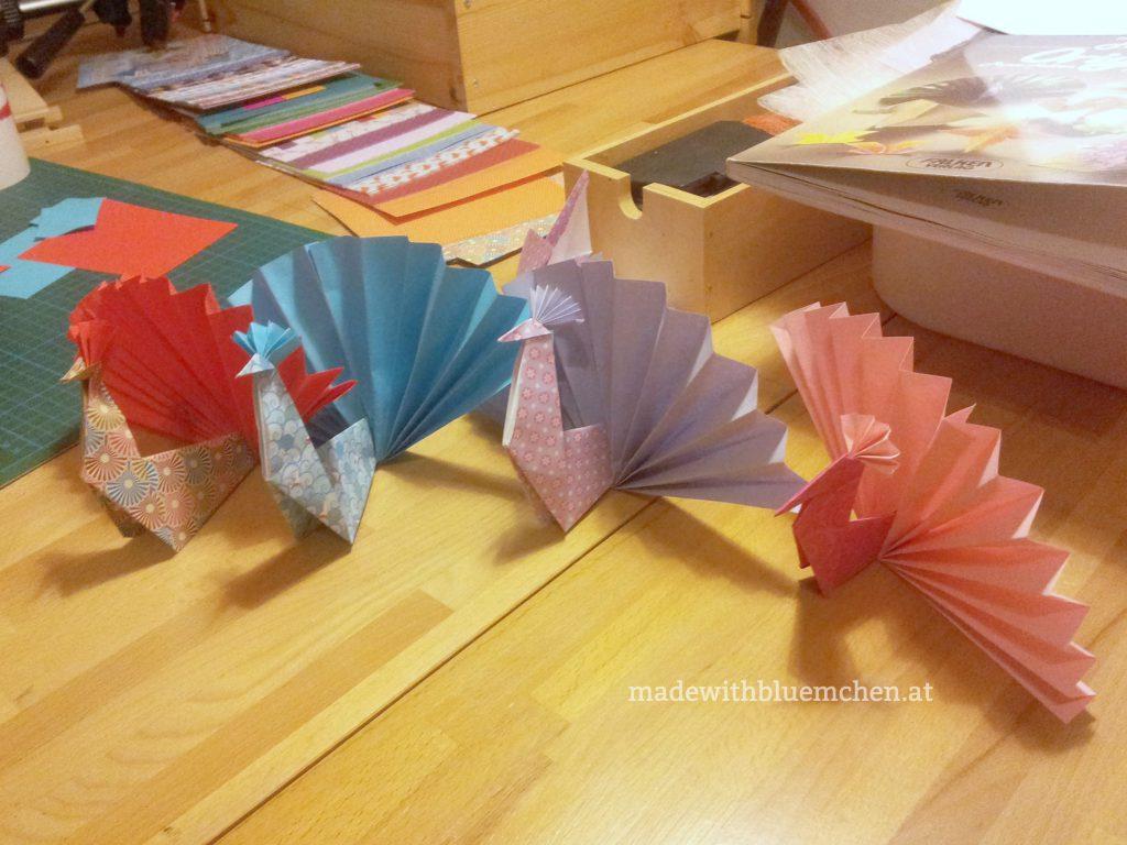 OrigamiPfauen6