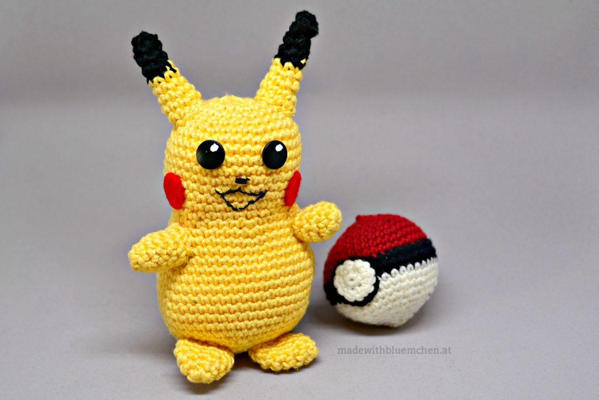Pikachu (The Detective) amigurumi pattern - Amigurumipatterns.net | 802x1200